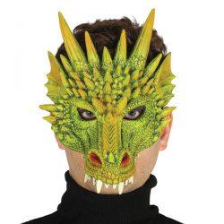 Careta verde dragon terrible