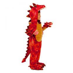 Disfraz dragon 3 cabezas juvenil 5-7-años