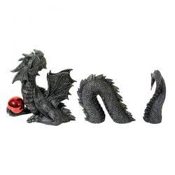 Figura gran dragón en 3 partes con esfera roja