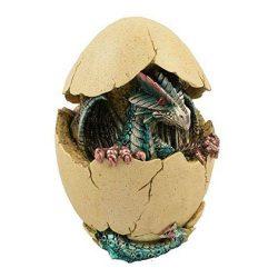 cría de dragones verdes en el huevo de dragón
