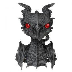 Alduin dragón cabezon del juego Skyrim