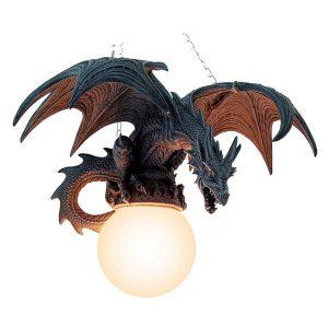 lampara de gran wyverno para colgar del techo