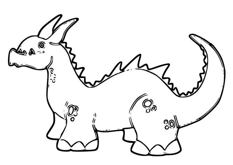 dragoncito caricatura aspecto pokemon para niños