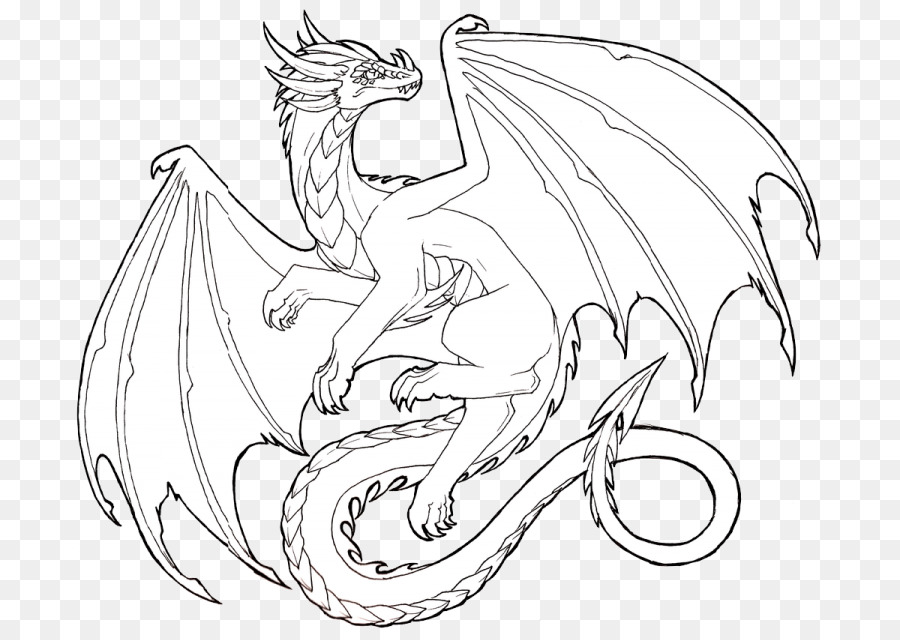 diseño circular dragon mitológico vidriera
