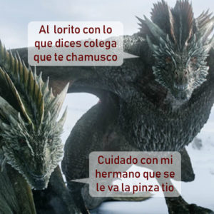 dragones game of thrones critica