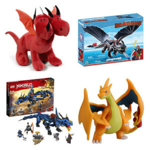 juguete dragon: playmobil, lego, pokemon, peluches