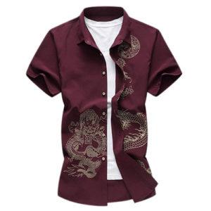 Camisas de Dragón, elegancia milenaria!