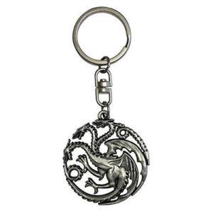 Llavero de Dragón Targaryen de Juego de Tronos