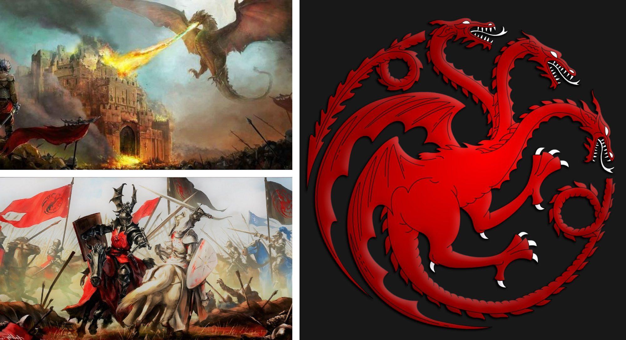 batallas famosas de los targaryen
