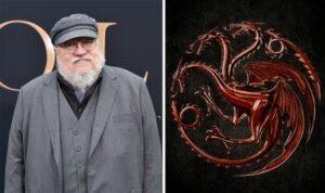 George RR Martin filtra la fecha de lanzamiento de La Casa del Dragón