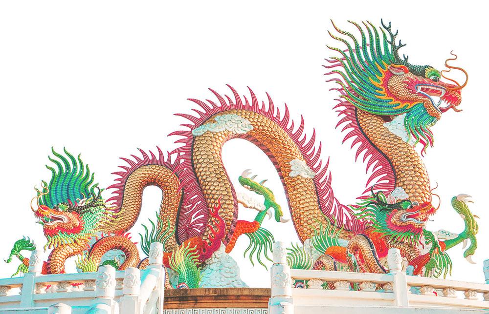 Dragón chino de la mitología